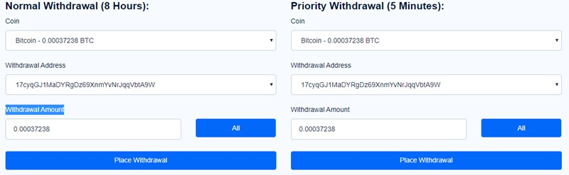 FaucetPay Withdraw 2
