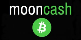 Moon Bitcoin cash logo