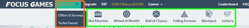 FocusGames.io ganhar earn