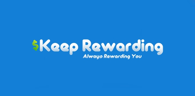 Keep Rewarding logo